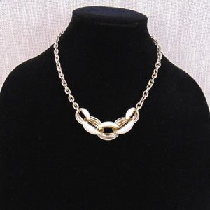 Anne Klein Collar Enamel Necklace